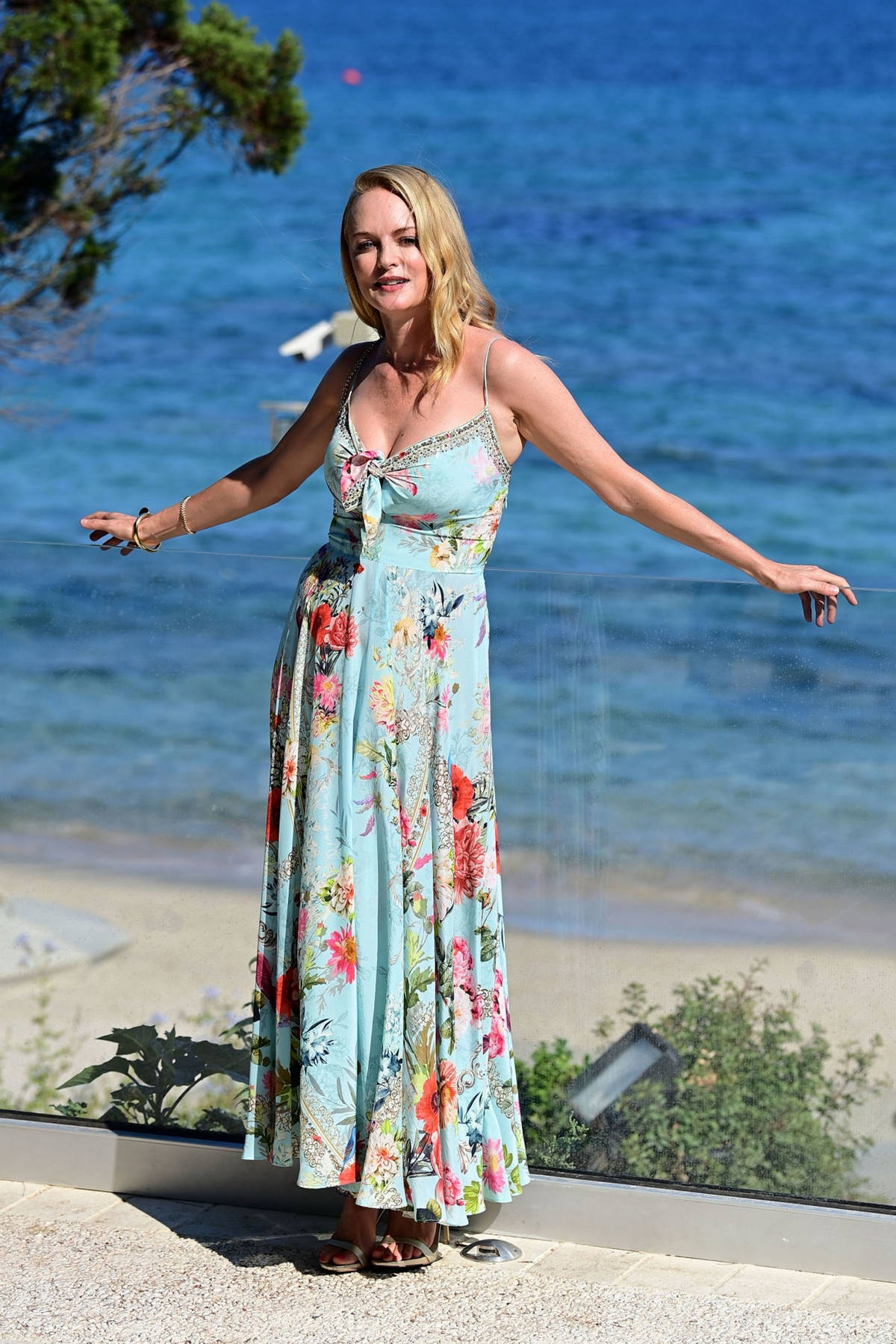 Heather Graham attends the Filming Italy Festival, Day 2 at Forte Village Resort in Santa Margherita di Pula, Italy