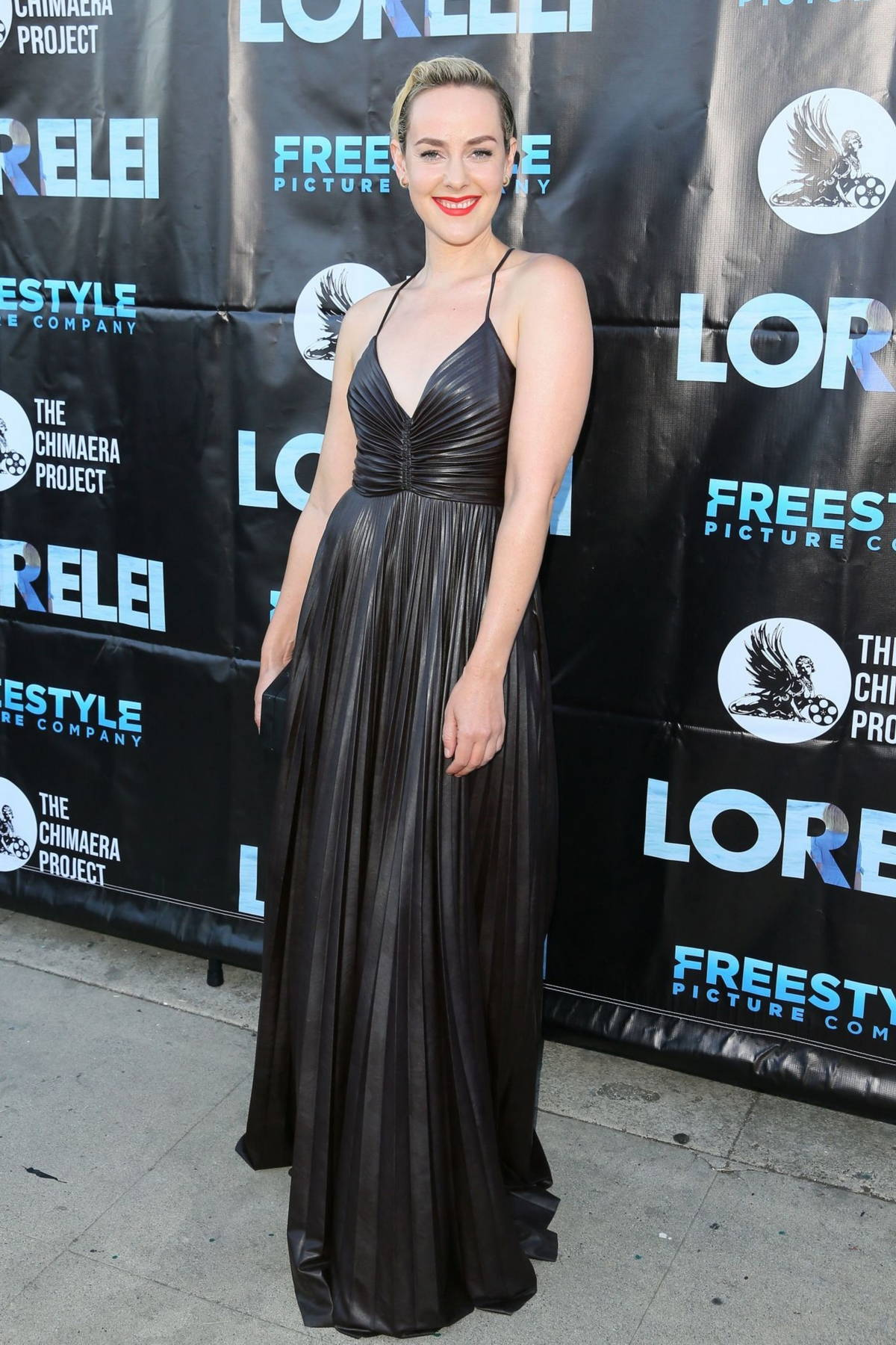 Jena Malone attends the premiere of 'Lorelei' at Laemmle Royal in Los Angeles