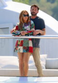 Jennifer Lopez and Ben Affleck pack on the PDA while on a romantic cruise aboard a yacht in the south of France