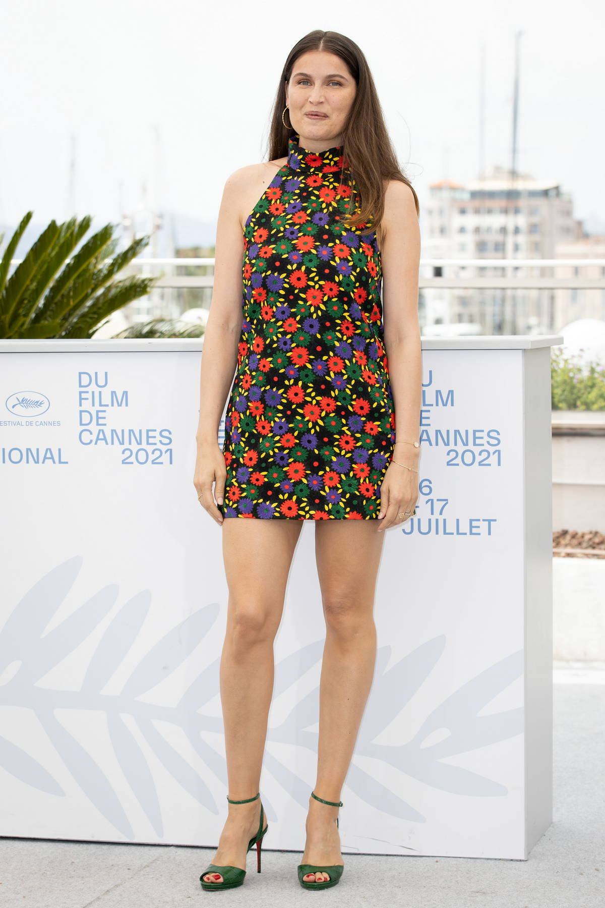 Laetitia Casta attends the photocall for 'La Croisade' during the 74th annual Cannes Film Festival in Cannes, France