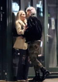 Lottie Moss spotted packing on the PDA with a mystery man while out in Notting Hill, London, UK