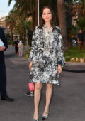 Marion Cotillard attends the Chanel dinner during the 74th annual Cannes Film Festival in Cannes, France