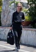 Nicky Hilton seen arriving in Capri ahead of the UNICEF Italia and LuisaViaRoma Summer Gala in Capri, Italy