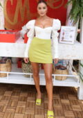 Olivia Culpo attends the 2021 Sports Illustrated Swimsuit Edition launch event in Hollywood, Florida