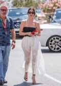 Paz Vega looks radiant while stepping out during the 74th Cannes Film Festival in Cannes, France