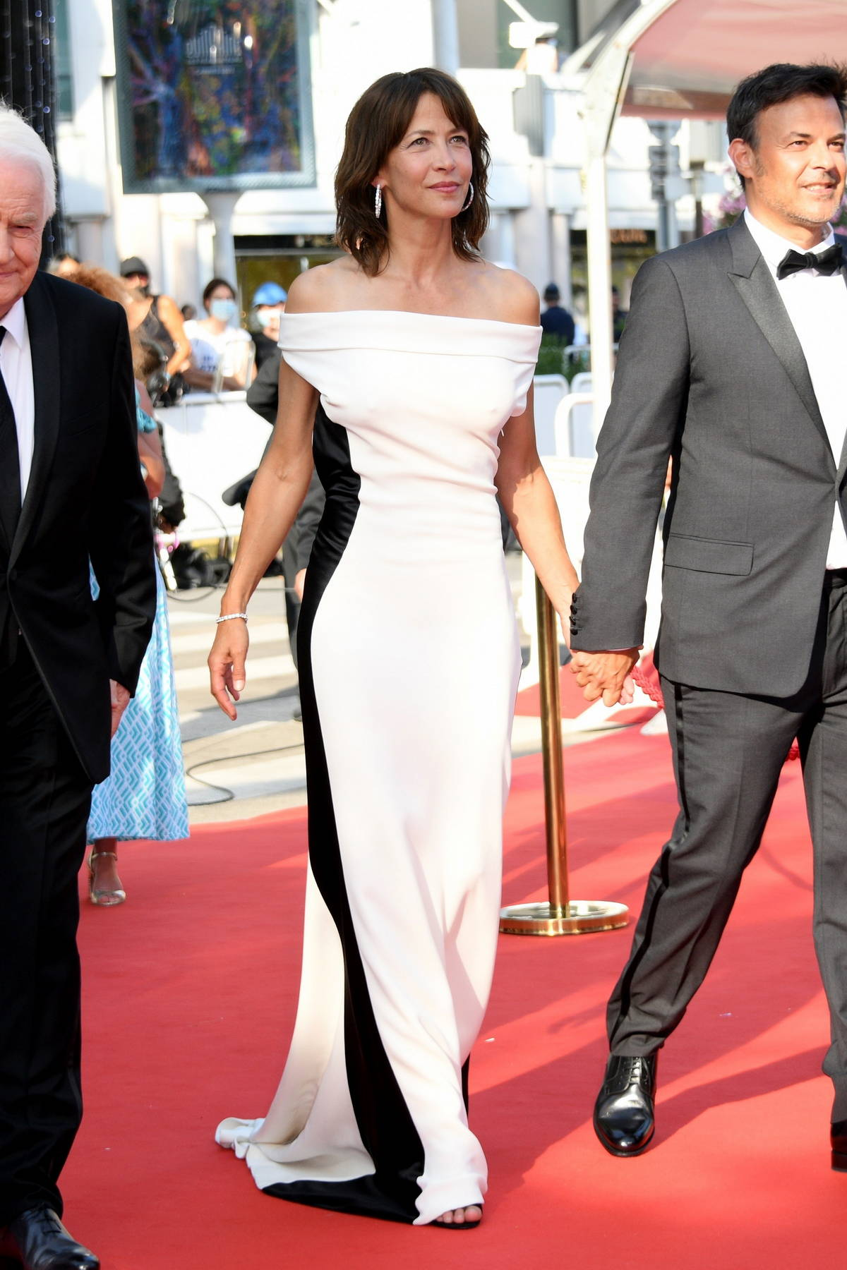 """Sophie Marceau attends the """"Tout S'est Bien Passe"""" screening during the 74th annual Cannes Film Festival in Cannes, France"""