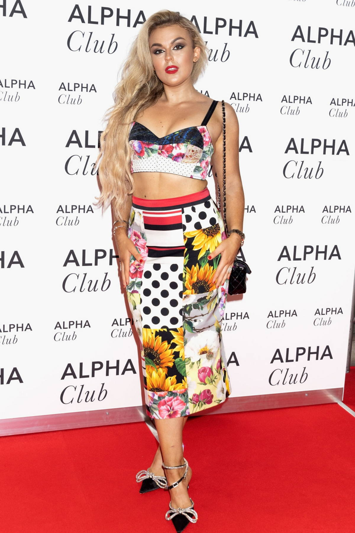 Tallia Storm attends The Best of the West End Concert at the Royal Albert Hall in London, UK