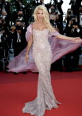 Victoria Silvstedt attends the screening of 'Tre Piani' during the 74th annual Cannes Film Festival in Cannes, France