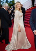 Virginie Efira attends the Premiere of 'Benedetta' during the 74th annual Cannes Film Festival in Cannes, France