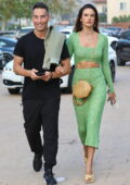 Alessandra Ambrosio looks gorgeous while out on a dinner date with boyfriend Richard Lee at Nobu in Malibu, California