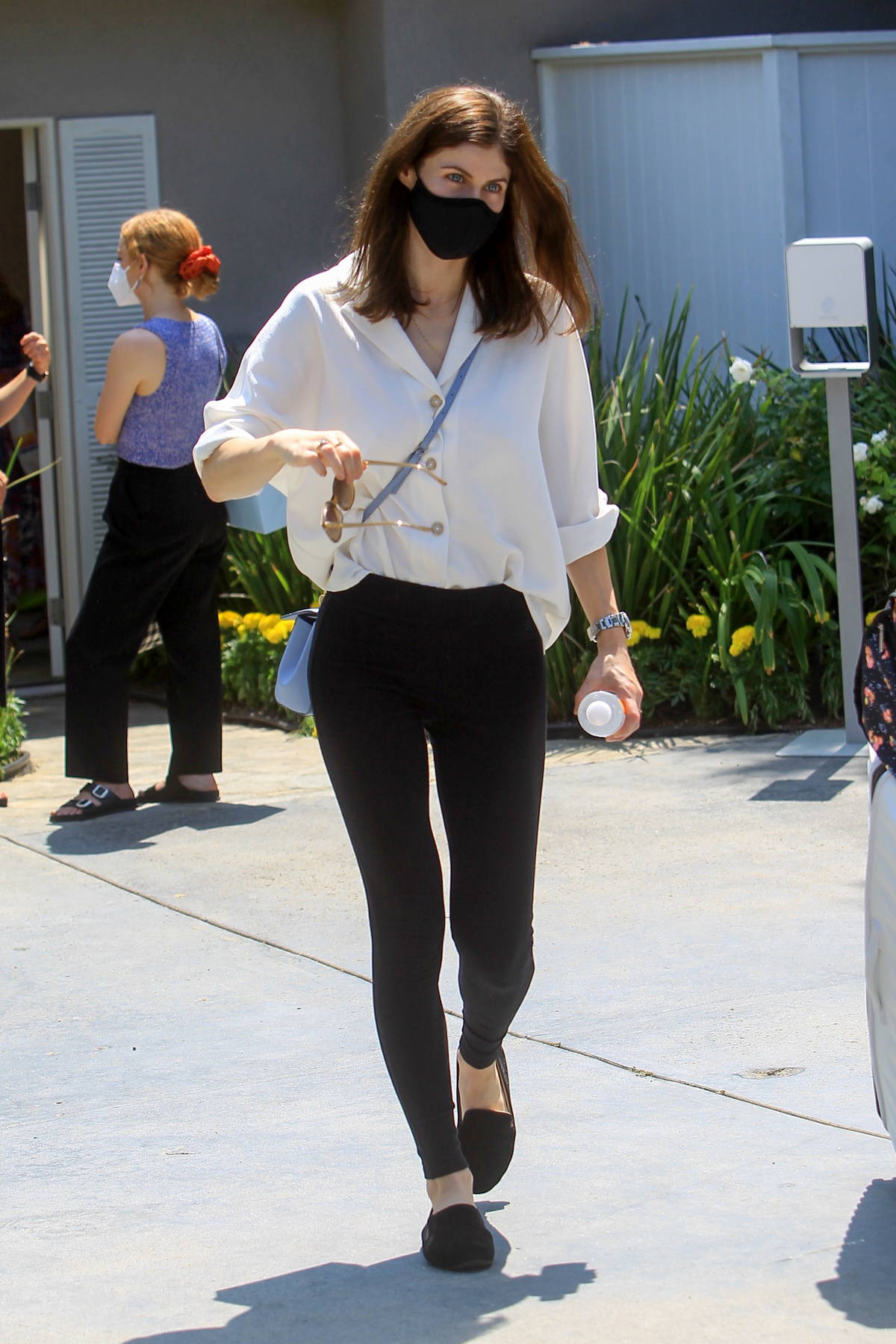 Alexandra Daddario attends the Day Of Indulgence event in Brentwood, California