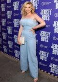 Amy Hart attends the 'Jersey Boys' press night at Trafalgar Theatre in London, UK