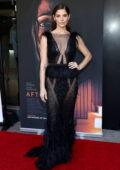 Ashley Greene attends the Los Angeles Premiere of 'Aftermath' at The Landmark Westwood in Los Angeles