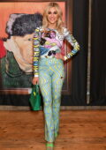 Ashley Roberts attends the launch of Van Gogh: The Immersive Experience at The Old Truman Brewery in London, UK