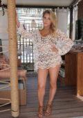 Cassie Scerbo hosts Mello Bello Pop Up at Elia Beach Club LV at Virgin Hotels, Las Vegas, Nevada