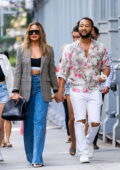 Chrissy Teigen and John Legend look stylish as they step out in SoHo, New York City