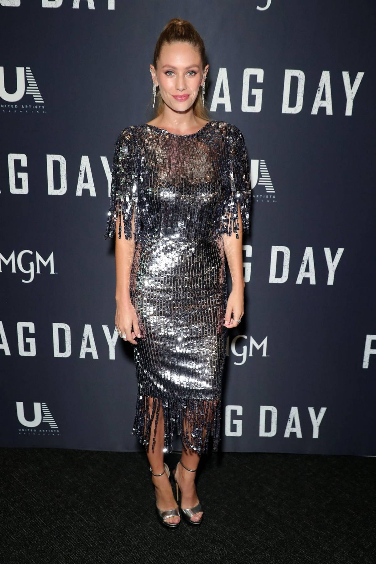 Dylan Penn attends a special screening of Sean Penn's 'Flag Day' at The Directors Guild of America in Los Angeles