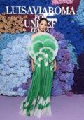 Eiza Gonzalez attends the 2021 LuisaViaRoma for UNICEF Italia event in Capri, Italy