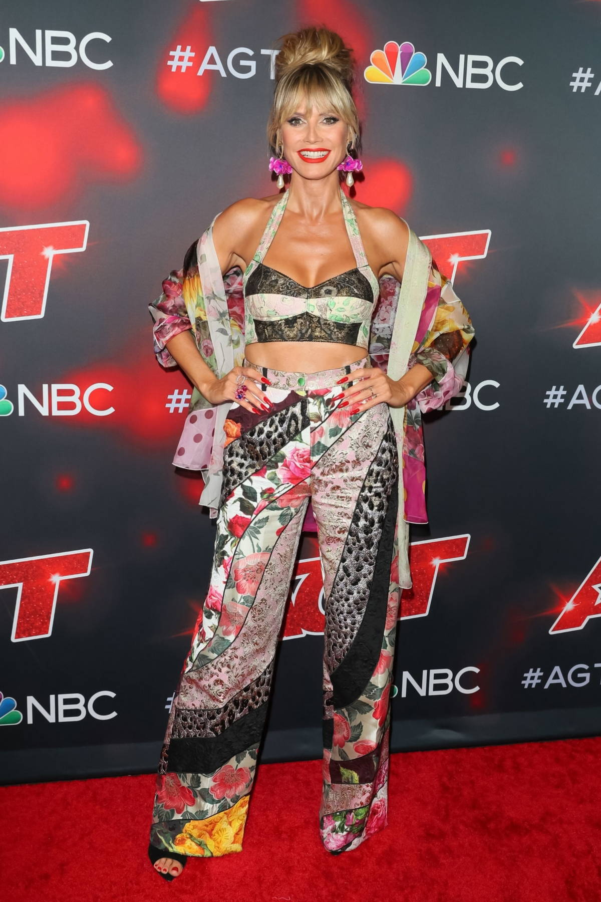 Heidi Klum arrives at 'America's Got Talent', Season 16 live show at Dolby Theatre in Hollywood, California