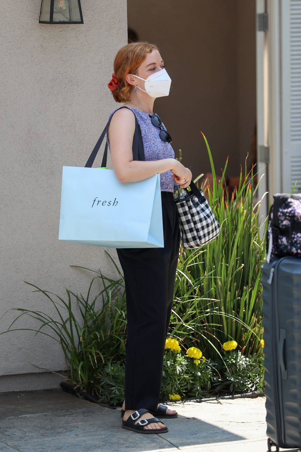 Jane Levy attends the Day Of Indulgence event in Brentwood, California
