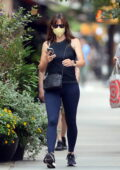Jennifer Garner keeps it sporty in tank top and leggings while stepping out in New York City