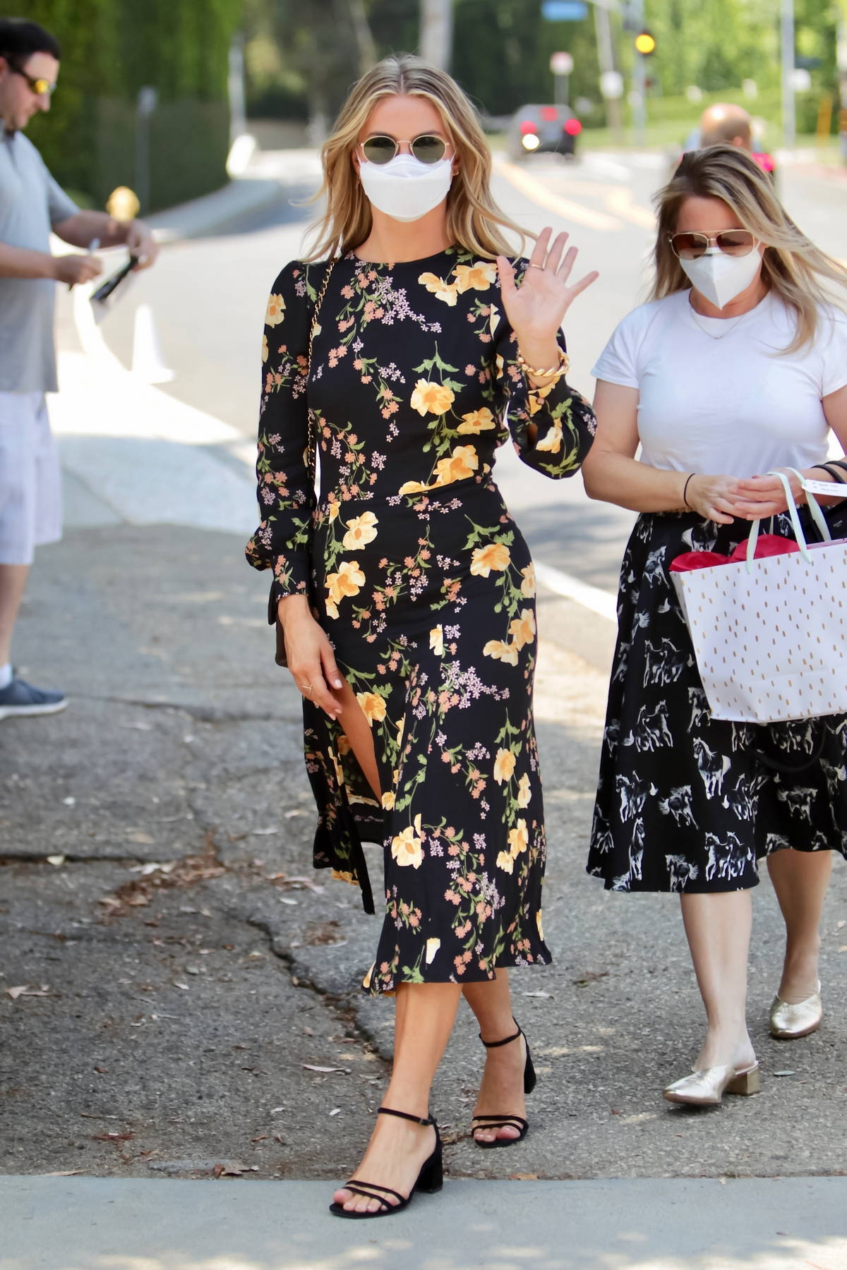 Julianne Hough attends the Day Of Indulgence event in Brentwood, California