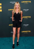 Katherine McNamara attends a special screening of 'Annette' at the Hollywood Forever Cemetery in Los Angeles