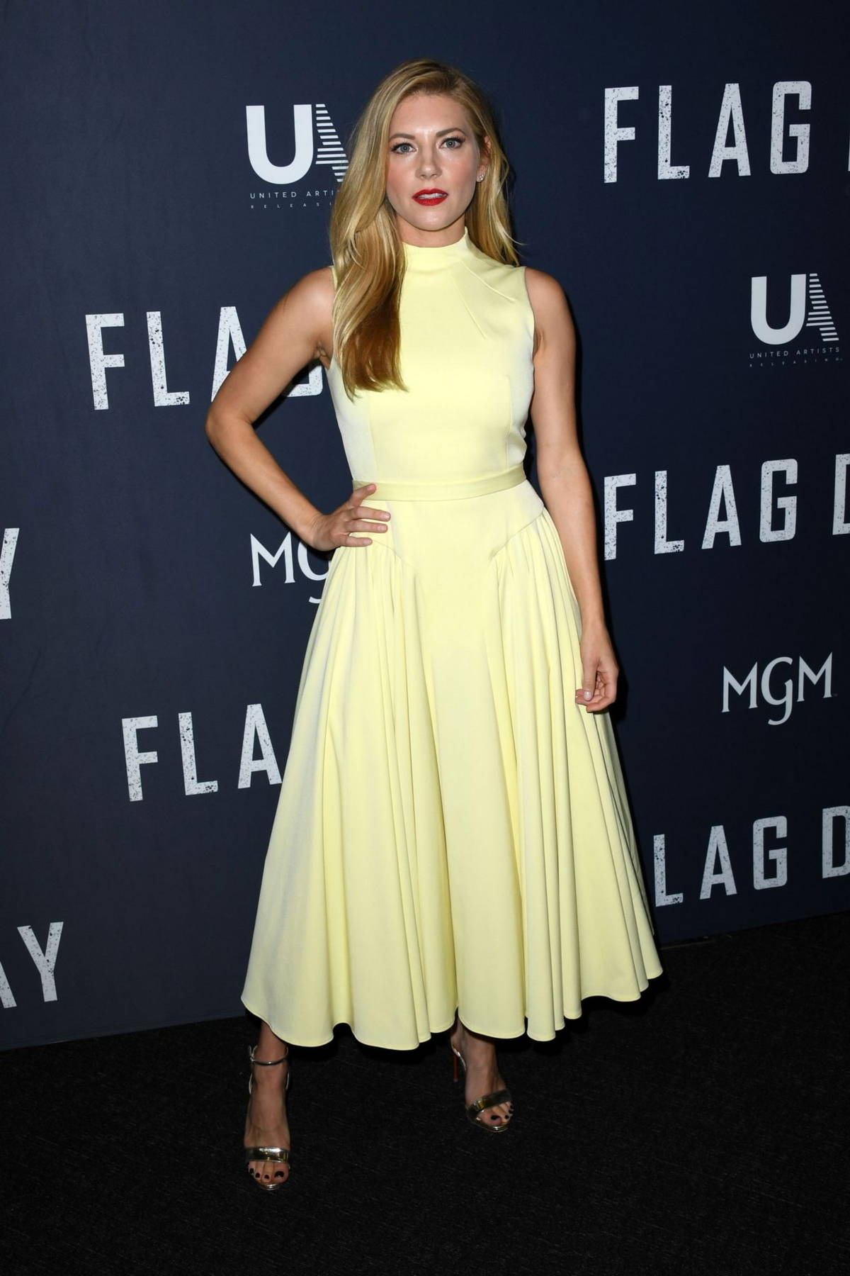 Katheryn Winnick attends a special screening of Sean Penn's 'Flag Day' at The Directors Guild of America in Los Angeles