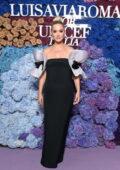 Katy Perry attends the 2021 LuisaViaRoma for UNICEF Italia event in Capri, Italy