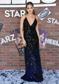 Kelli Berglund attends the Premiere of the new STARZ series 'Heels' in Los Angeles