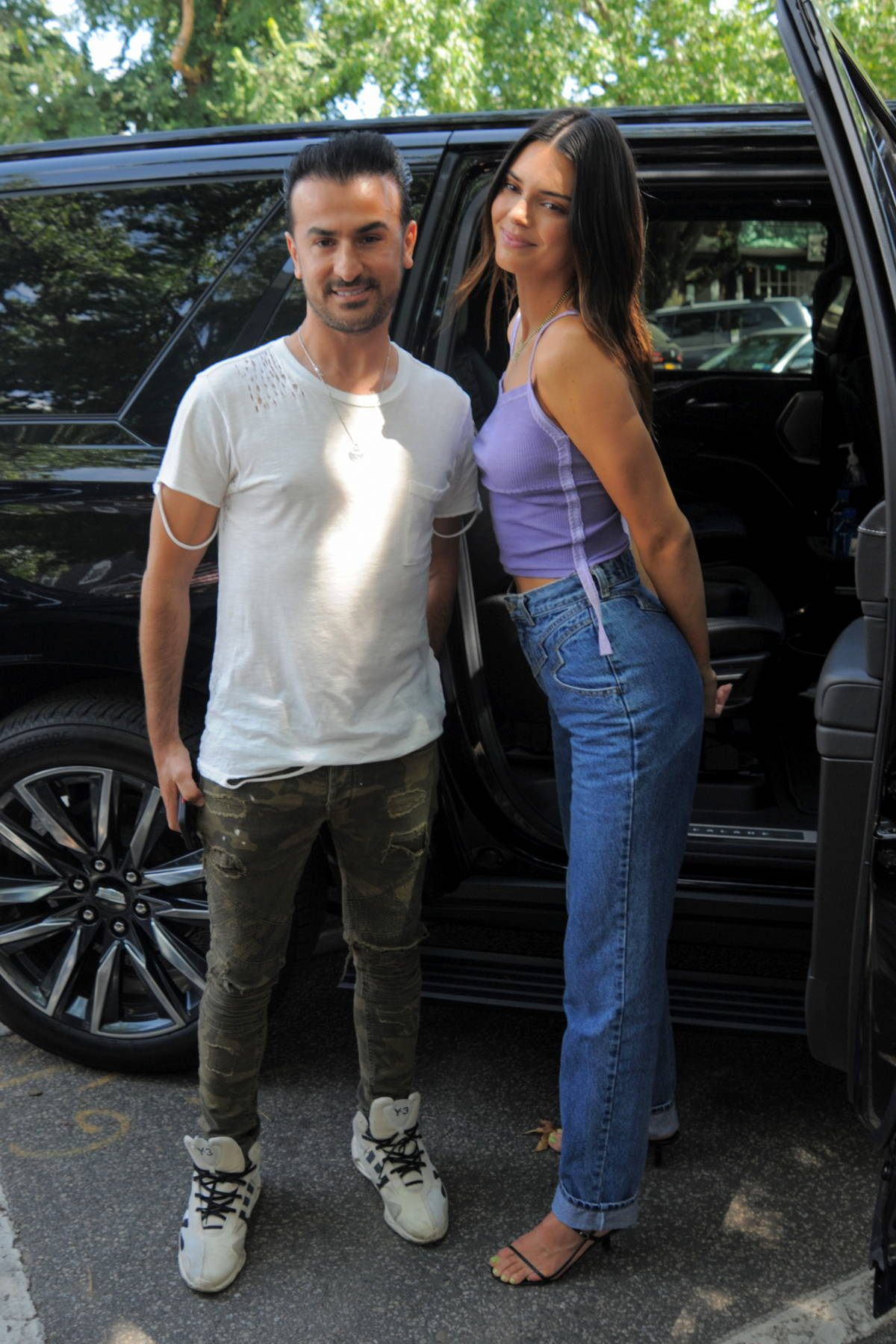 Kendall Jenner promotes her Tequila Brand 'Drink 818' at 75Main Bar in Southampton, New York