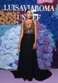 Lais Ribeiro attends the 2021 LuisaViaRoma for UNICEF Italia event in Capri, Italy