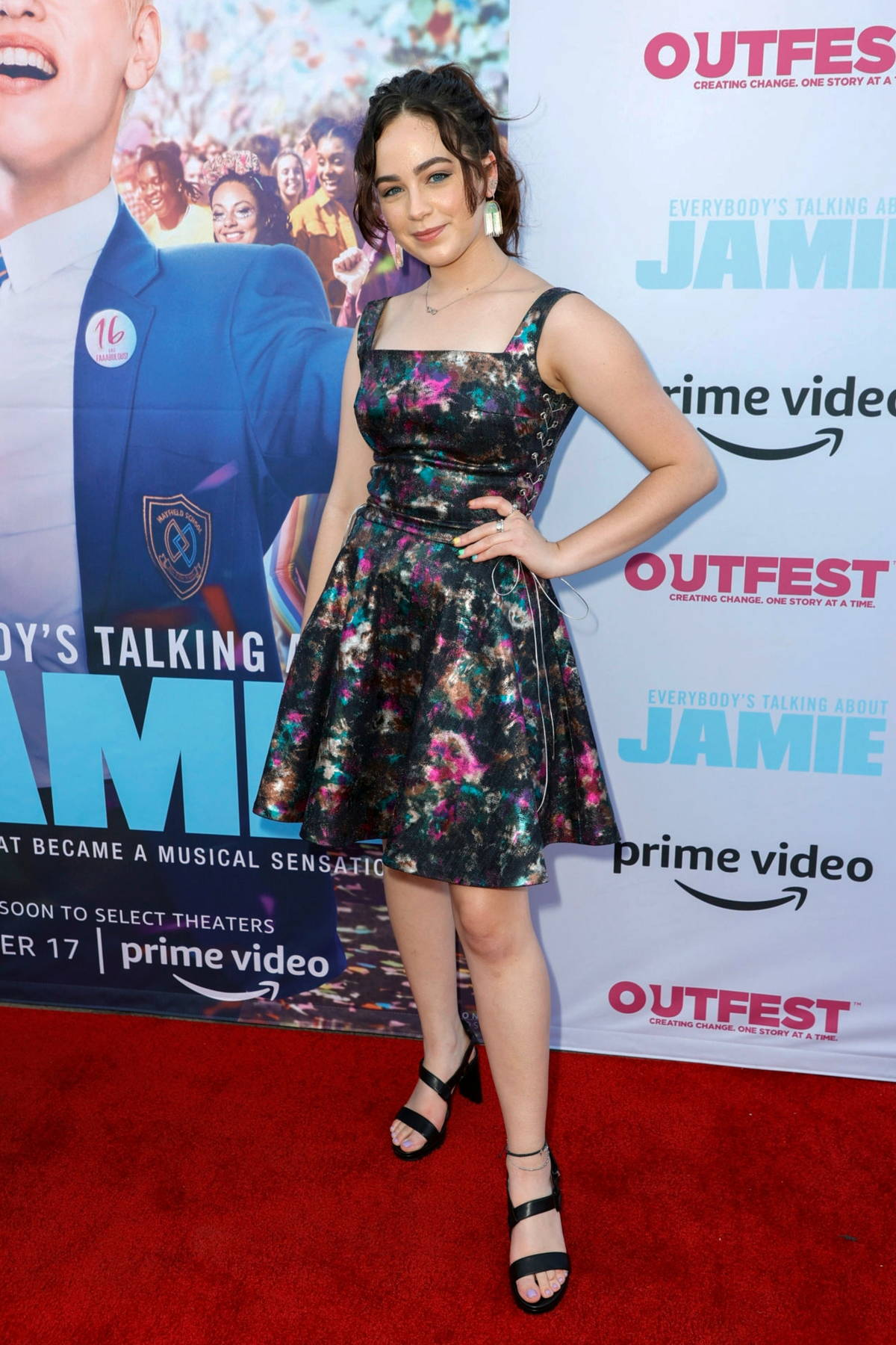 Mary Mouser attends the Premiere of 'Everybody's Talking About Jamie' in Los Angeles