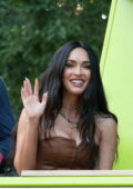 Megan Fox is all smiles as she attends the 2021 Lollapalooza, Day 3 in Chicago, Illinois