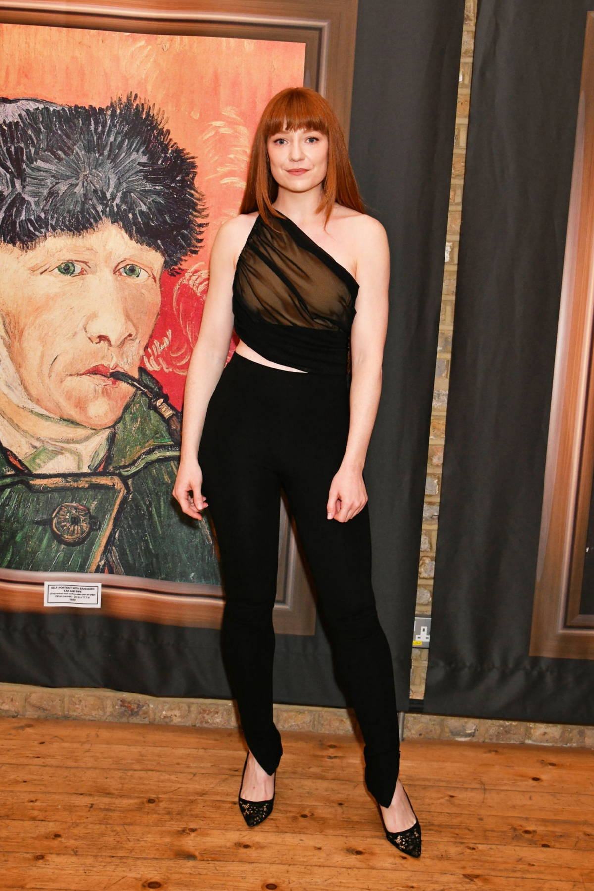 Nicola Roberts attends the launch of Van Gogh: The Immersive Experience at The Old Truman Brewery in London, UK