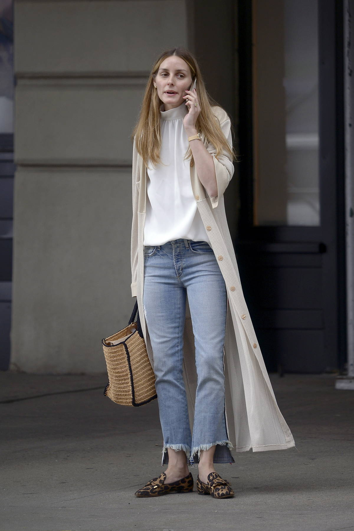 Olivia Palermo looks chic as ever while stepping out in New York City