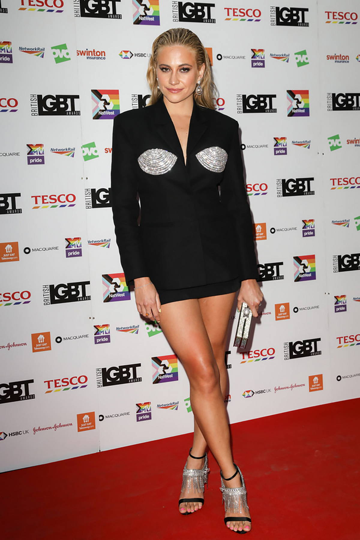 Pixie Lott attends the British LGBT Awards 2021 at The Brewery in London, UK