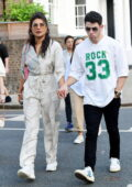 Priyanka Chopra and Nick Jonas step out for a family lunch in London, UK