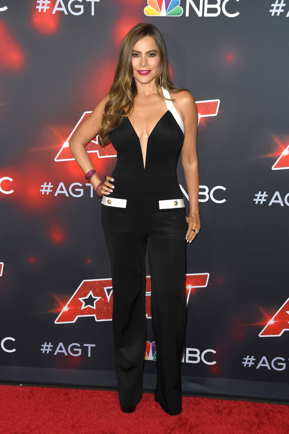 Sofía Vergara arrives at 'America's Got Talent', Season 16 live show at Dolby Theatre in Hollywood, California