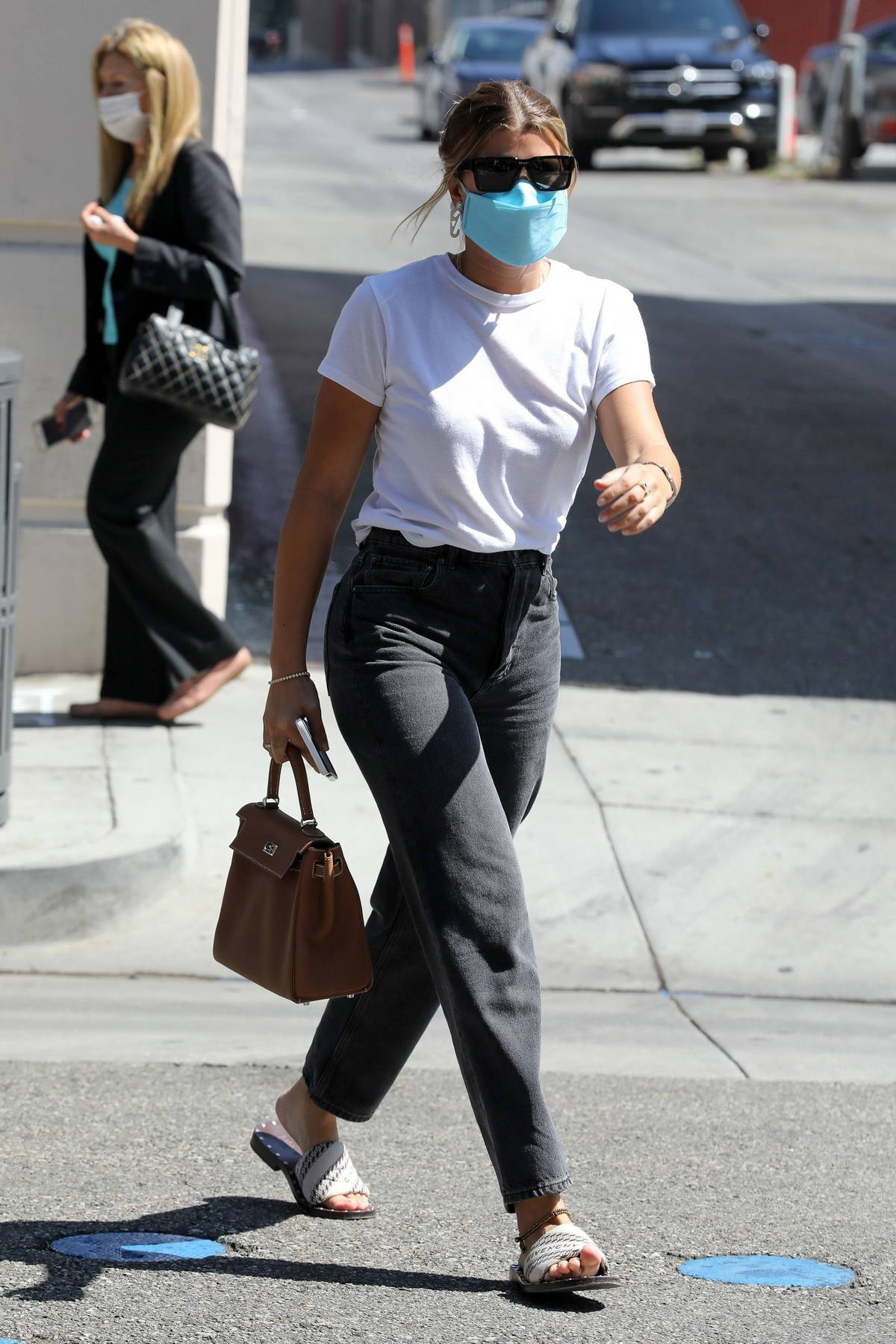 Sofia Richie spotted during a shopping trip with a friend at What Goes Around Comes Around in Beverly Hills, California