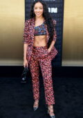 Tinashe attends the Los Angeles Premiere of 'Respect' at Regency Village Theatre in Los Angeles