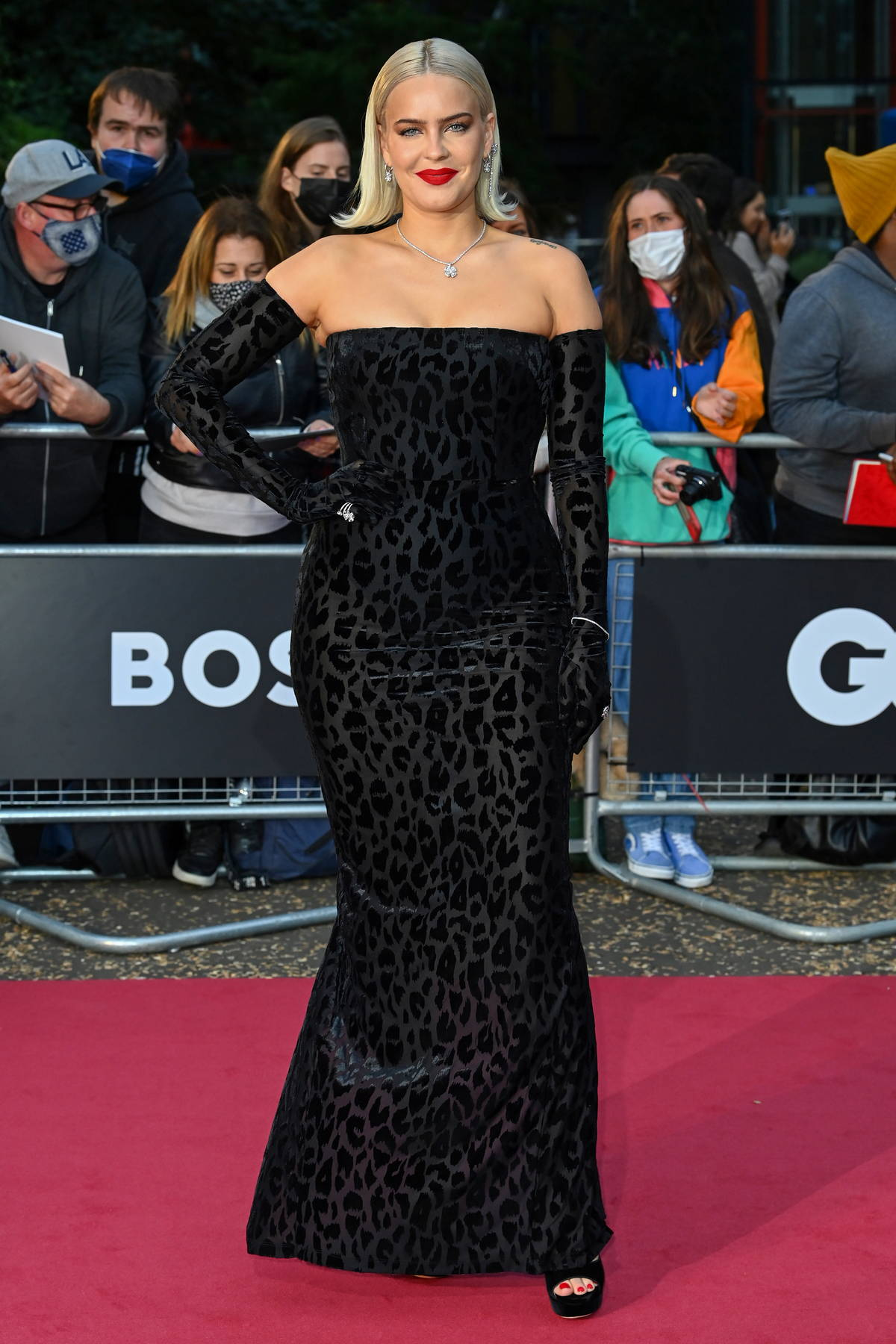 Anne-Marie attends the GQ Men Of The Year Awards 2021 at the Tate Modern in London, UK