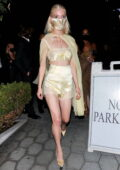 Anya Taylor-Joy attends an 2021 Emmys after-party at the Sunset Tower Hotel in Los Angeles