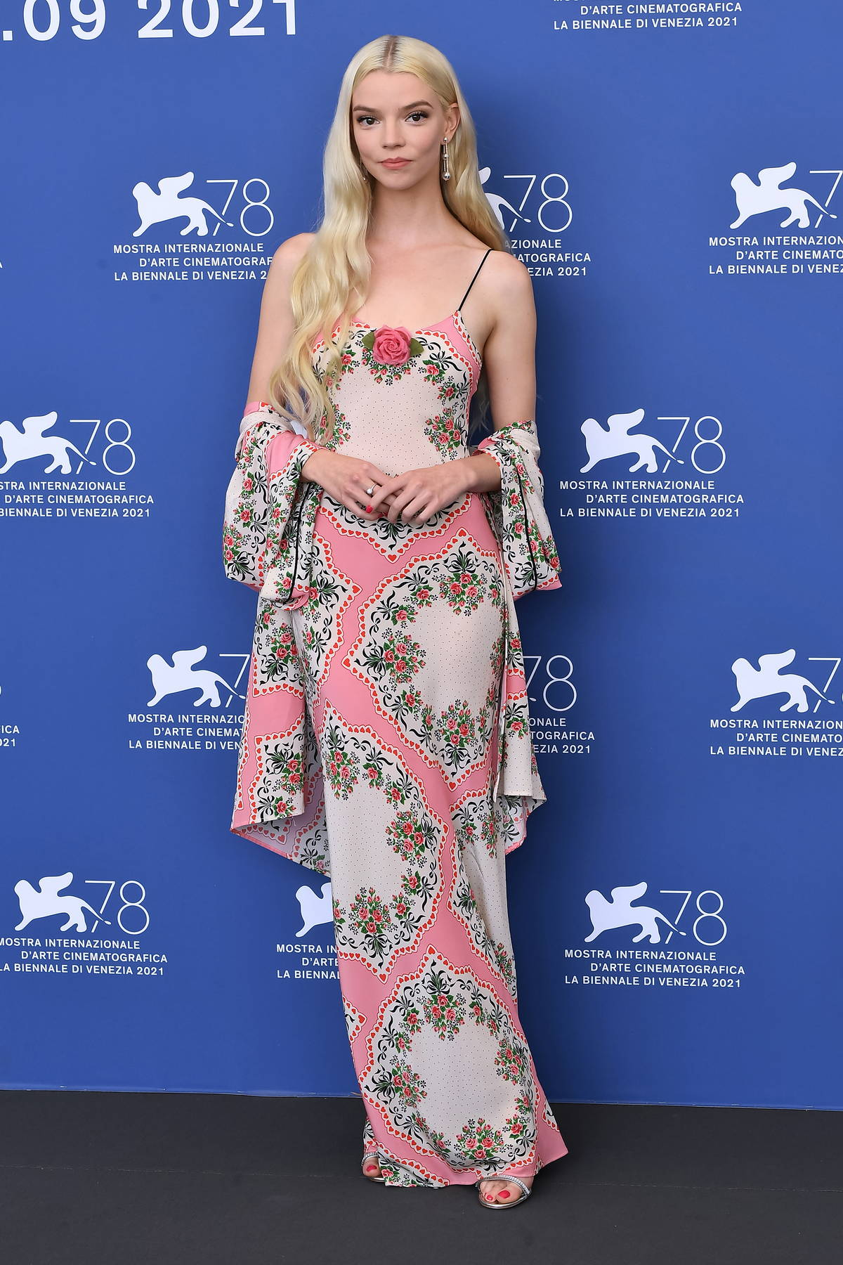 Anya Taylor-Joy attends the photocall of 'Last Night In Soho' during the 78th Venice International Film Festival in Venice, Italy