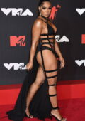 Ashanti attends the 2021 MTV Video Music Awards at Barclays Center in Brooklyn, New York City