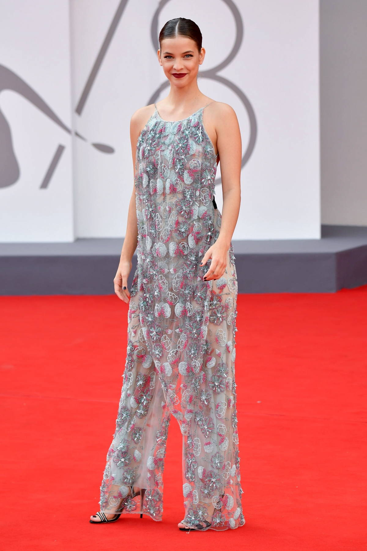 Barbara Palvin attends the Premiere of 'Dune' during the 78th Venice International Film Festival in Venice, Italy