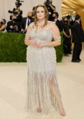 Barbie Ferreira attends The Met Gala Celebrating In America: A Lexicon Of Fashion at Metropolitan Museum of Art in New York City