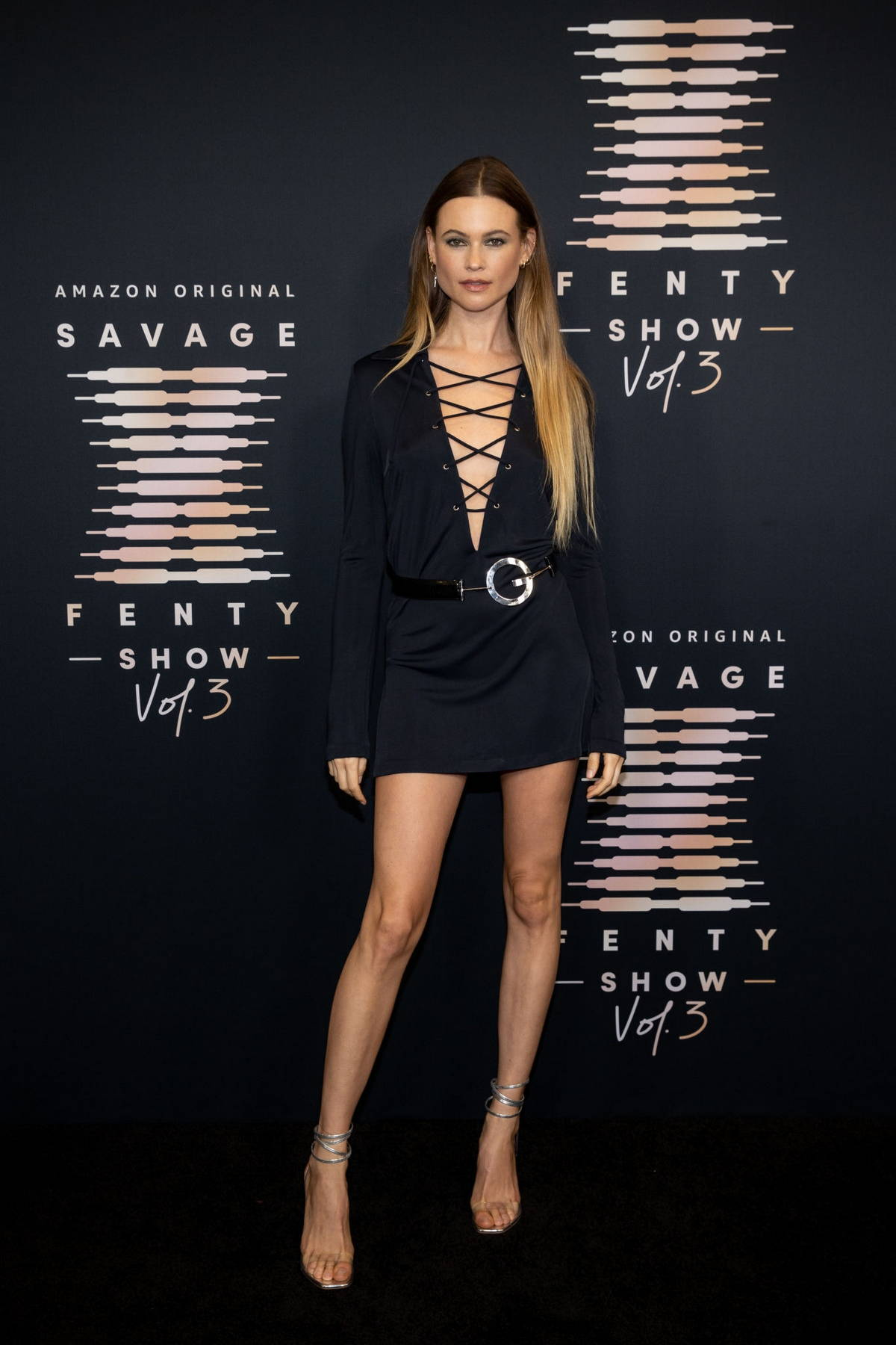 Behati Prinsloo attends the Savage x Fenty Show Vol 3 in Los Angeles