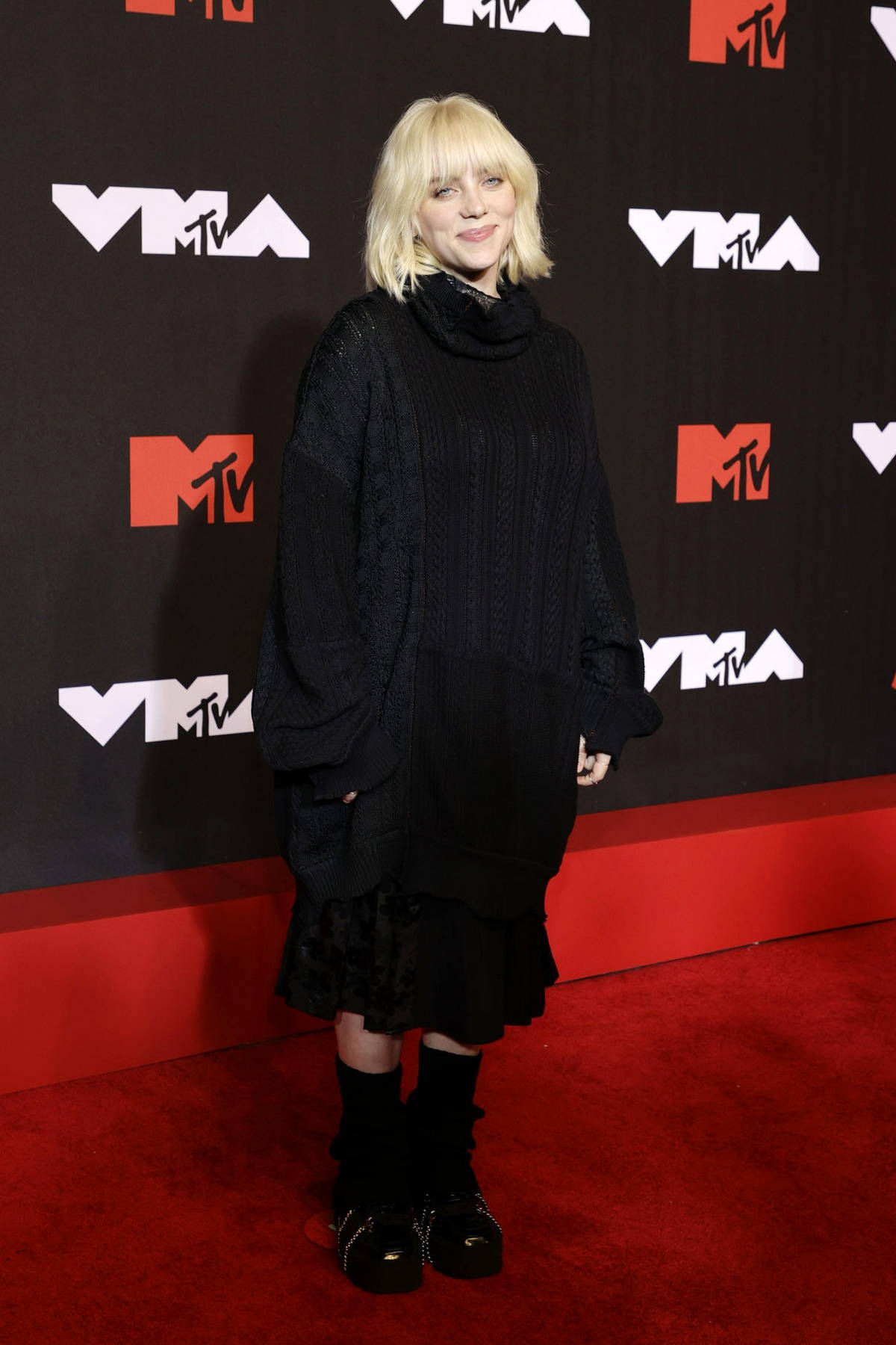 Billie Eilish attends the 2021 MTV Video Music Awards at Barclays Center in Brooklyn, New York City