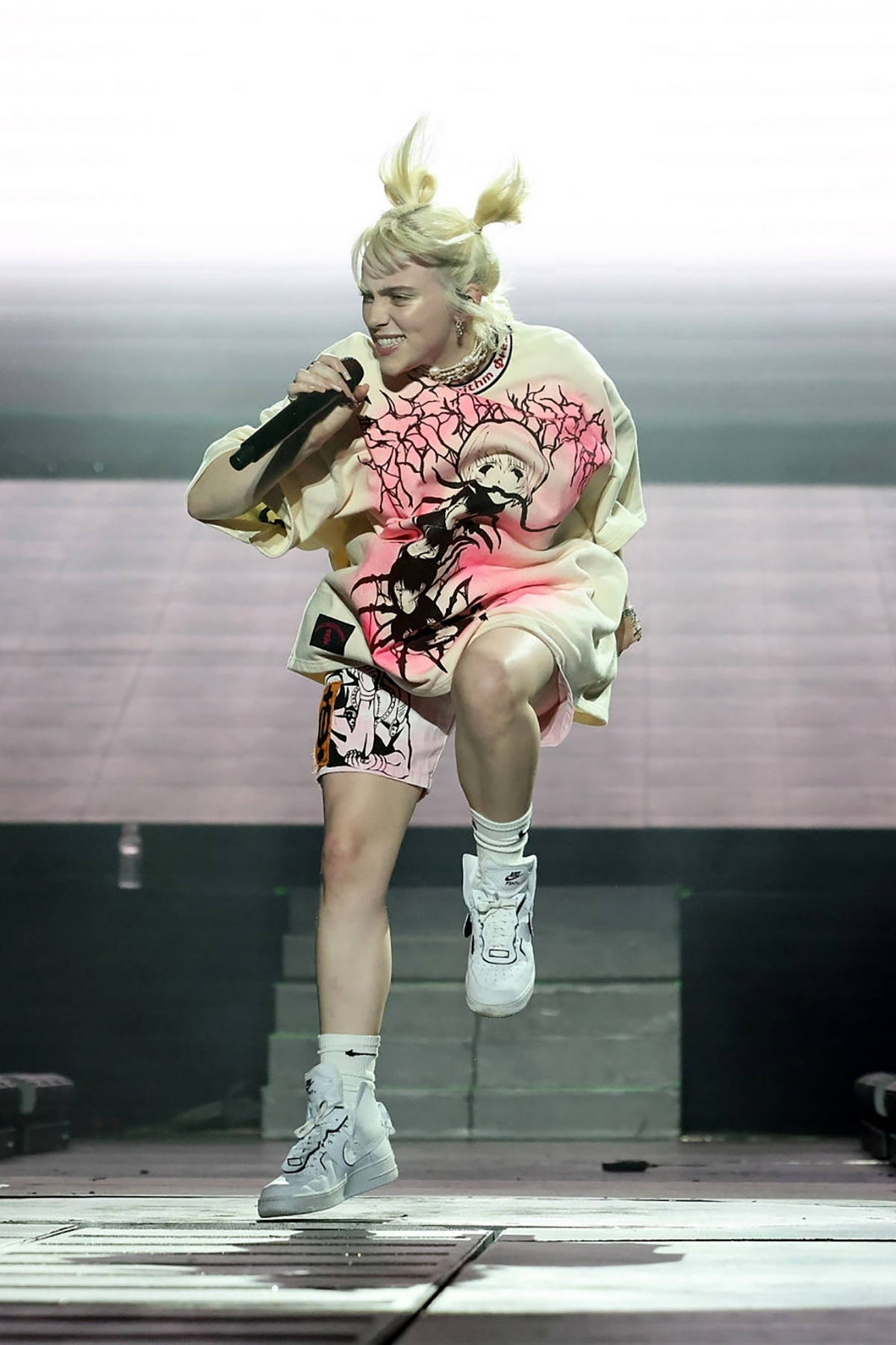 Billie Eilish performs during the 2021 Governors Ball Music Festival at Citi Field in New York City